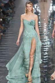 Greyed Jade Dress by Elie Saab #weddingdress #pantonewedding