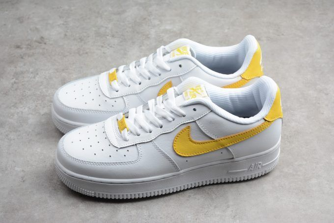 Coming Soon: Nike Air Force 1 Low White Yellow | KaSneaker