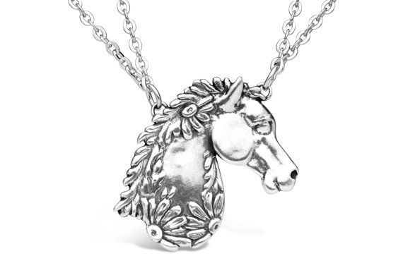 Spoon Necklace: Horse by Silver Spoon Jewelry by silverspoonj
