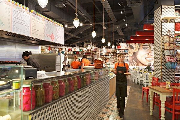 Comptoir Libanais opens at Gatwick and Bluewater