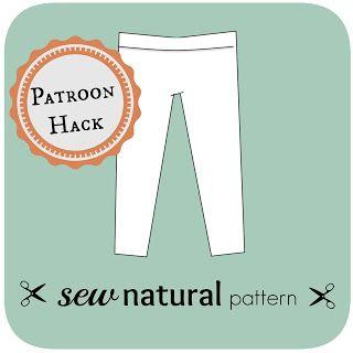By MiekK: Patroon Hack - van Legging naar Pyjamabroek