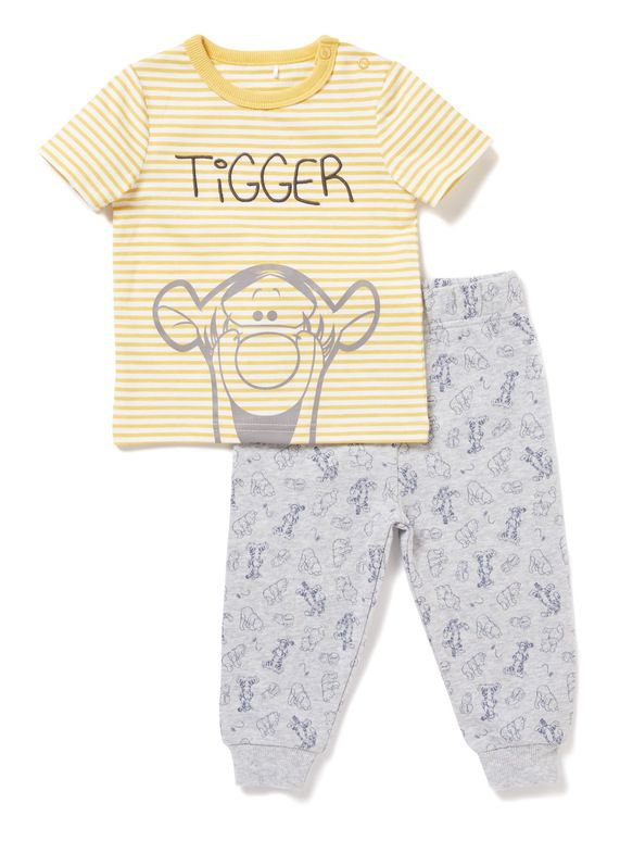Multicoloured Disney Tigger T-shirt   Jogger Set (Newborn - 18 months) from  Tu at Sainsbury s ! Your Online Shop for Baby Boy Outfits   Sets a742ad368