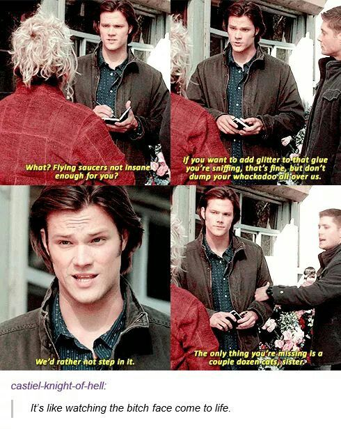 Soulless Sam knows what's what!