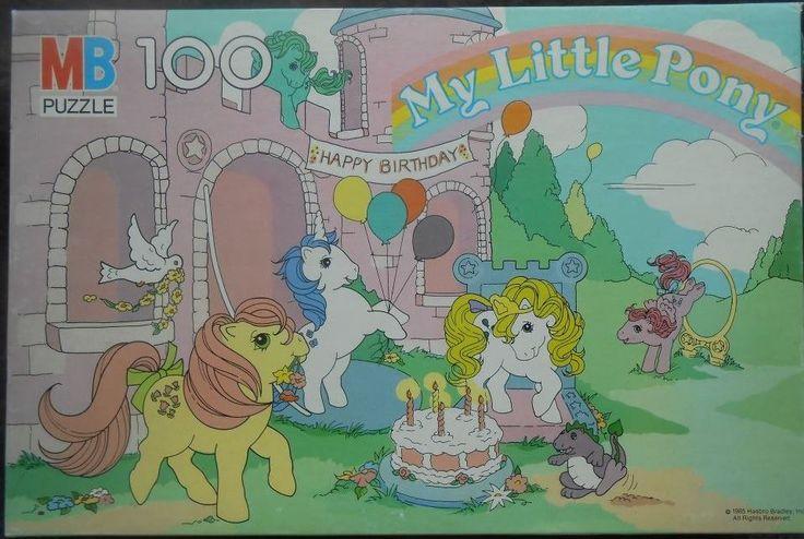 my little pony G1 puzzle