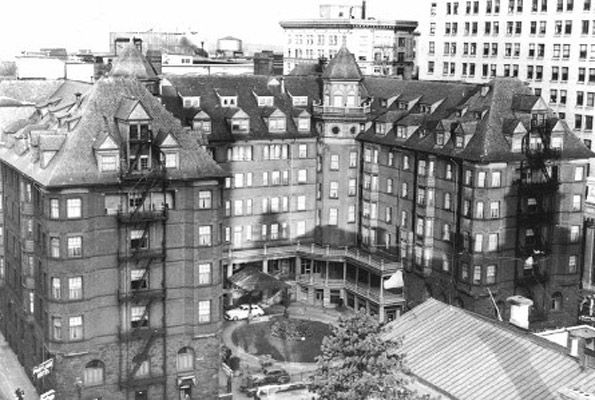 Portland Hotel, downtown Portland Oregon, built in 1890.