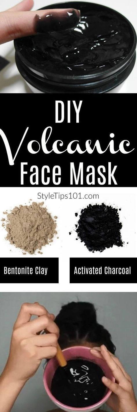 DIY Volcanic Face Mask for Acne and Oily Skin