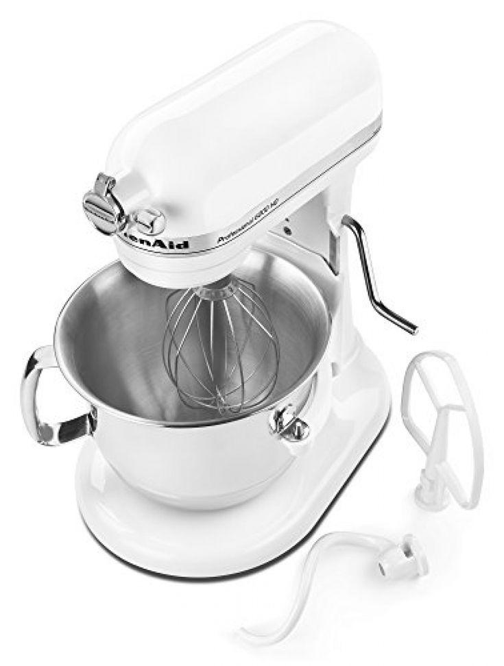 Kitchenaid professional 6000 hd ksm6573cwh stand mixer 6