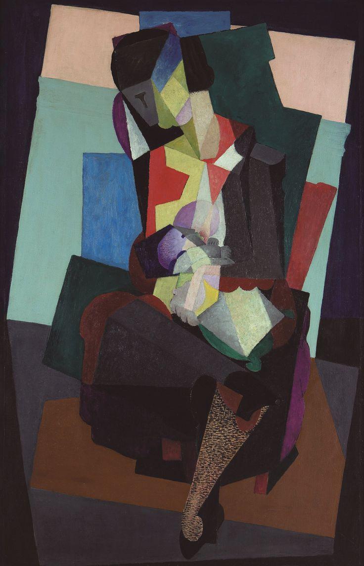 Diego_Rivera,_c.1916,_Maternidad,_Angelina_y_el_niño_Diego,_oil_on_canvas,_134.5_x_88.  Mexican ArtDiego ...