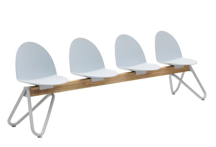 Family of Chairs with a Graphic and Essential Design