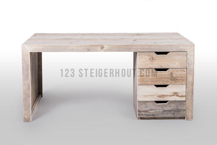 bureau steigerhout | Alle meubelen Tafels Salontafels Bureau's Bedden Banken Stoelen ...
