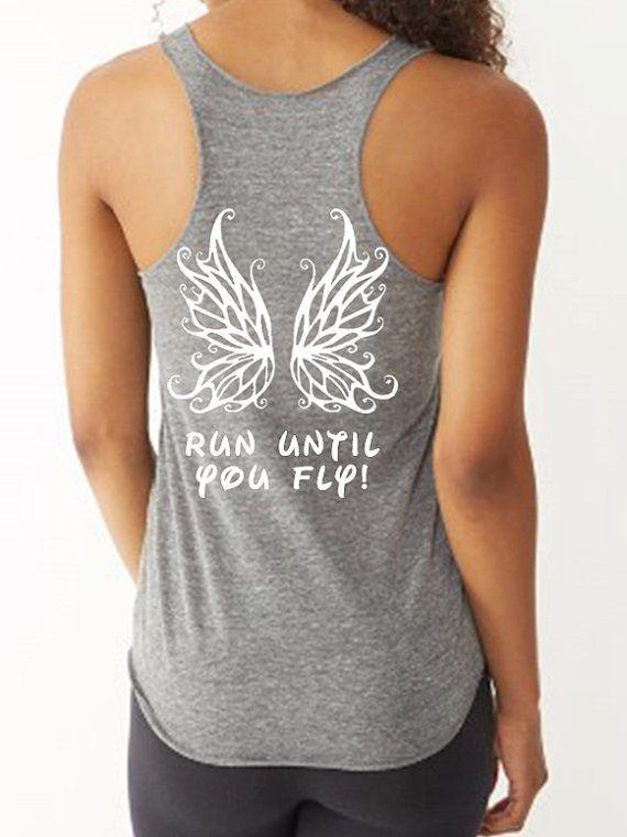 Disney Style Tink  Half Marathon Run Until you by FitGirlClothing