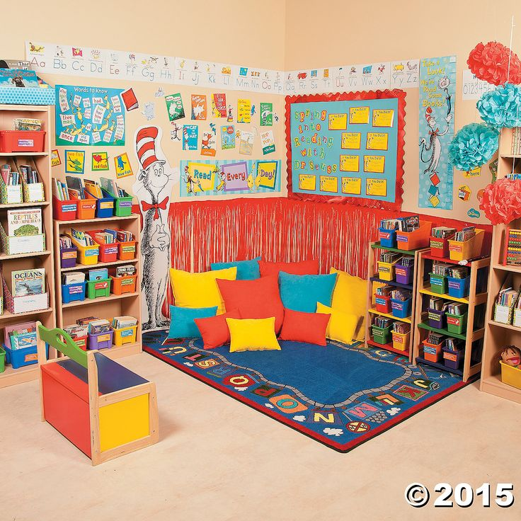 Dr Seuss Reading Corner Orientaltrading Com Dr Seuss
