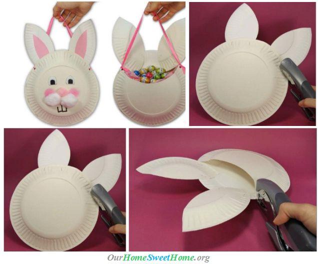Simple Easter Basket Craft ♥