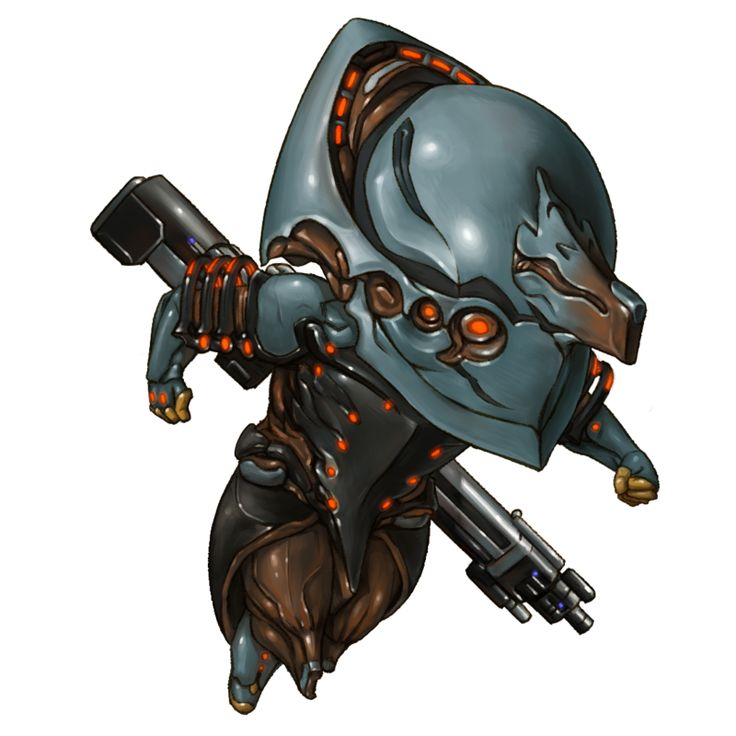 looking for sci-fi chibi and found this warframe chibi by jiayibingding  warframe-volt by jiayibingding on deviantART