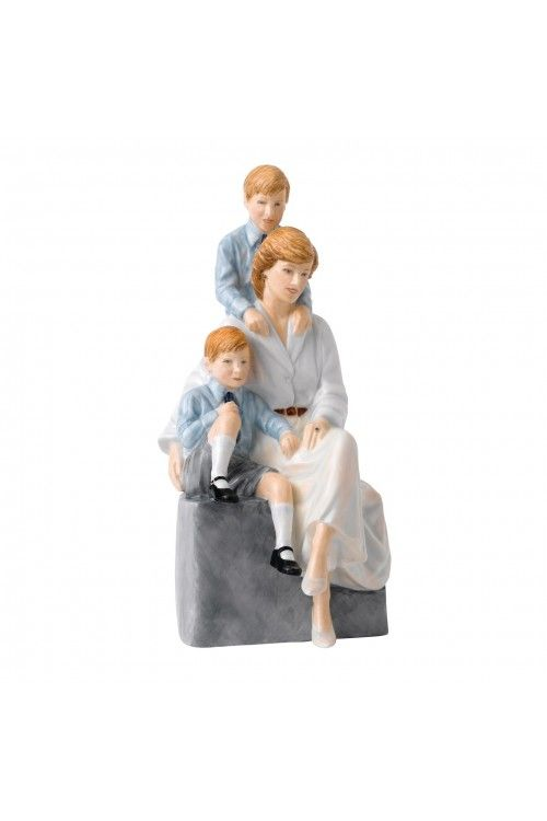 ROYAL DOULTON Remembering Diana A Loving Mother, Limited Edition of 2,000 at Waterford Wedgwood Royal Doulton, Tanger Outlets, San Marcos, TX or call 1-800-203-4540 or 512-396-4025.  We ship.