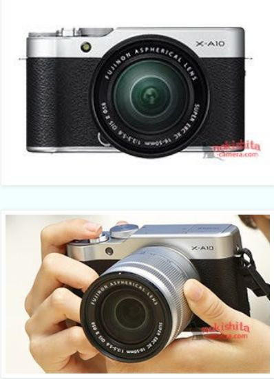 Fujifilm X-A10 Images leaked, coming soon