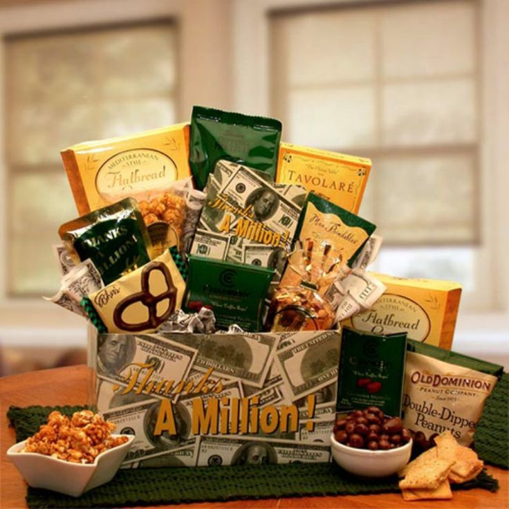 A Sincere Thank You Gift Basket - 830132