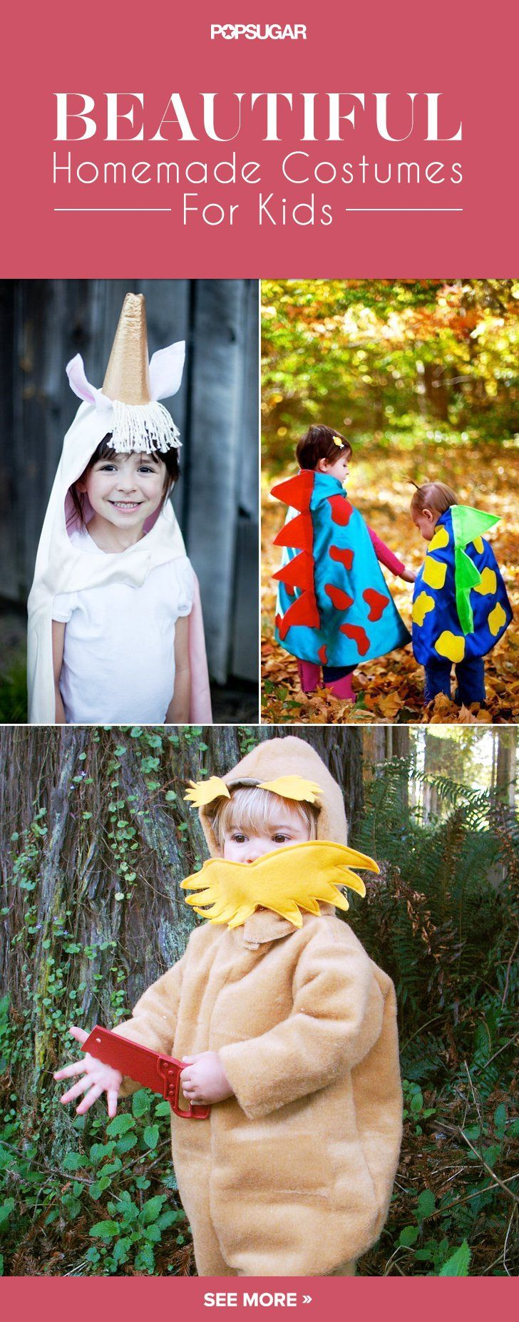 Pin for Later: 29 Beautiful Handmade Halloween Costumes For Kids