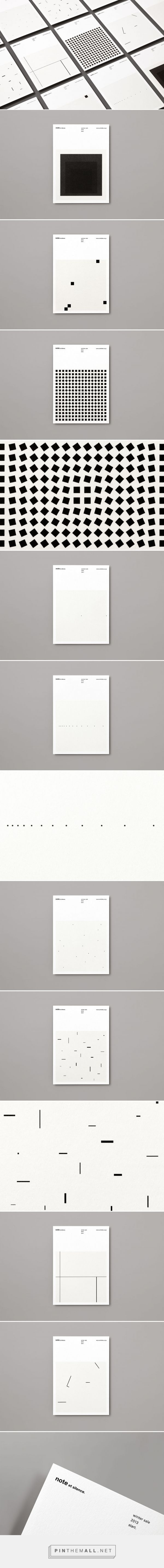 #print #design #layout ©️️ Makoto Kamimura - note et silence. - created via https://pinthemall.net