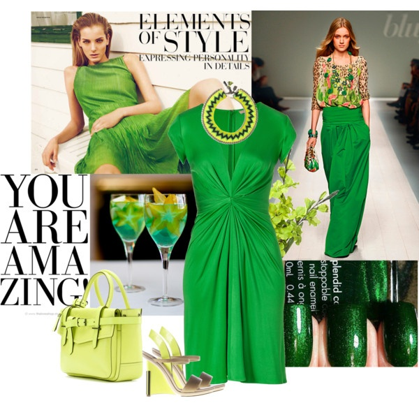 spring is in the air, created by mathew: Day Outfits, Fashion Passion, Fave Color, Fashion Week, Color Tied, Air, Style Faves