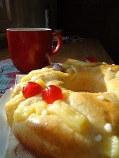 Rosca de Pascua casera. Espectacular!!! Receta en espanol.