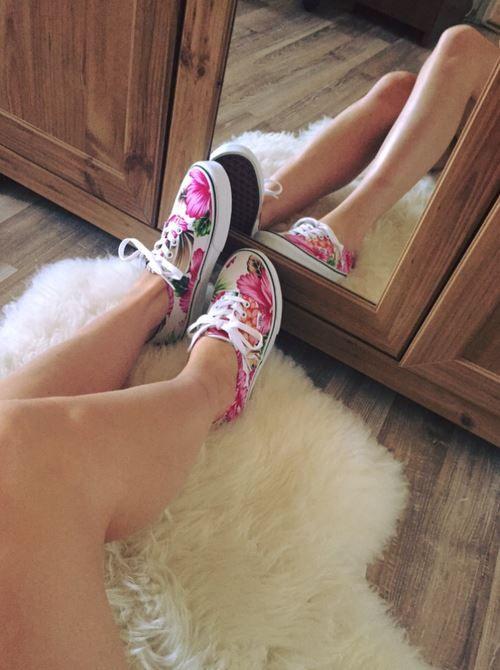 #vans #girly