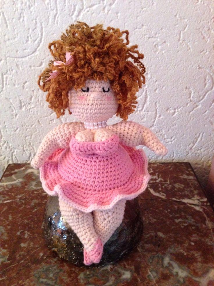 Mijn dikke dame, uit boekje van Anja Toonen