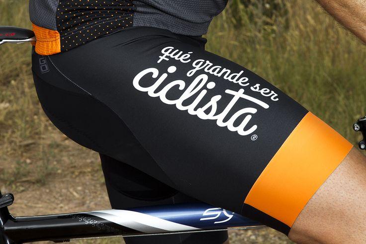 Culotte hombre qué grande ser ciclista #culotte #cycling #ciclismo