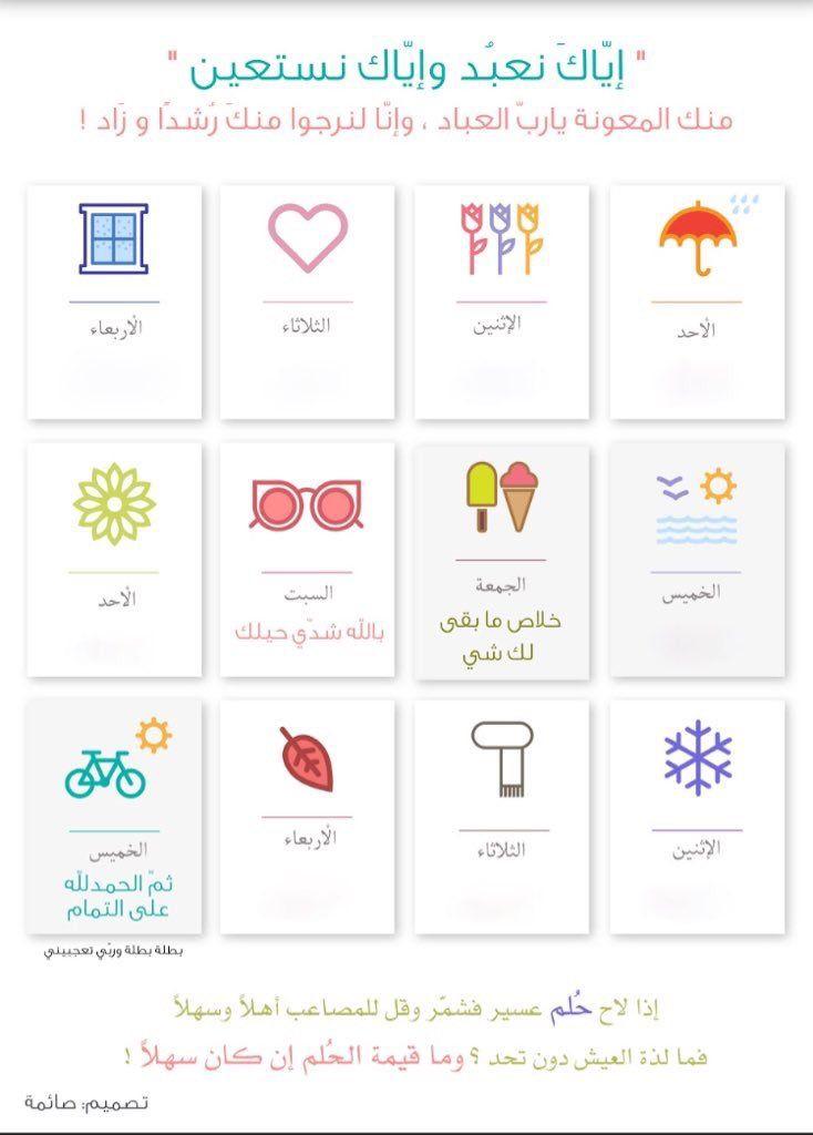 خلود روح م لهمه On Twitter Kids Planner Daily Planner Pages Life Planner Organization
