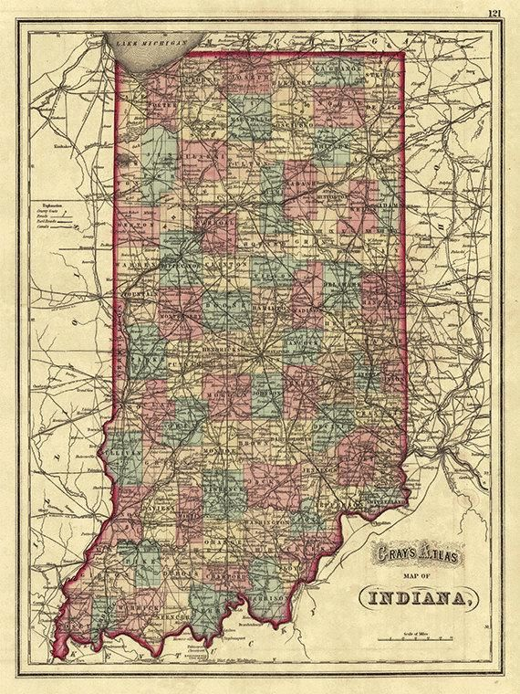 Indiana map print state map vintage old maps Antique prints poster on florida wall map, indiana state house map, indiana state world map, indiana state on us map, indiana state political map, indiana state travel map, indiana state road map, california wall map, new orleans wall map, indiana state township map, indiana state usa map, north carolina wall map,