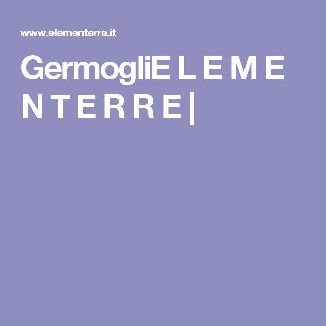 GermogliE L E M E N T E R R E  