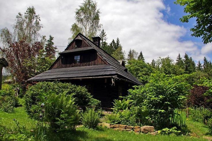 Dom rodzinny Jana Wałacha - Istebna 293. Family home of Jan Walach - Istebna 293.