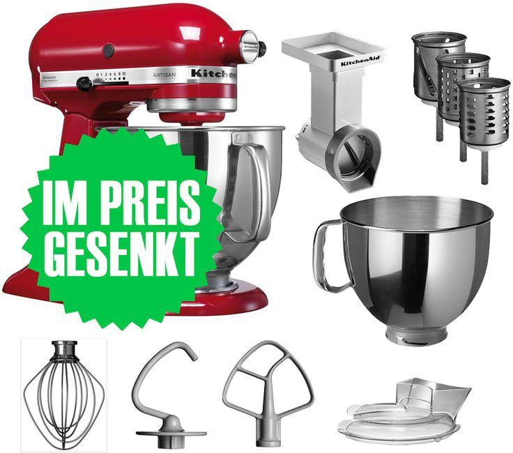 De 25+ bedste idéer inden for Kitchenaid preis på Pinterest - kitchenaid küchenmaschine artisan rot
