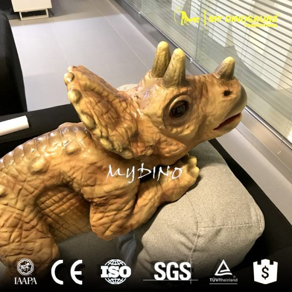 DC-059 Realistic Baby Dinosaur Puppet of Triceratops for Sale
