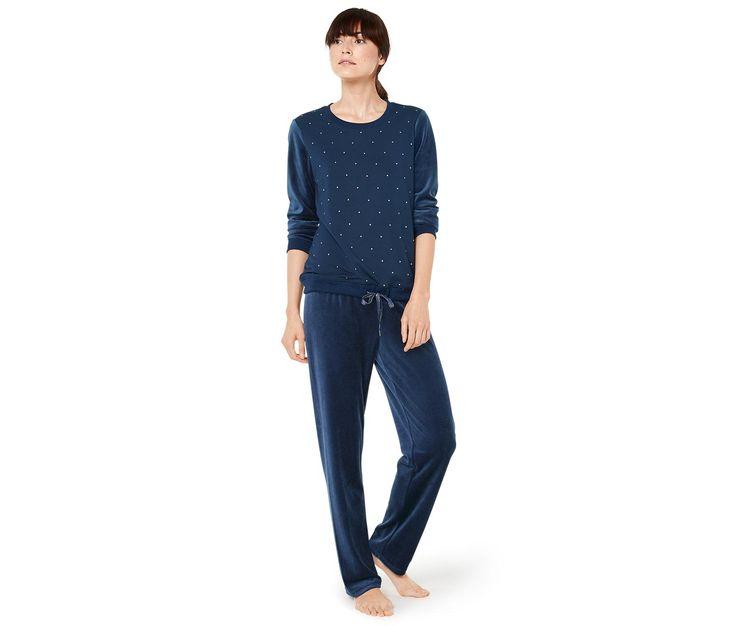 Piżama z weluru 331415 w Tchibo 199,99