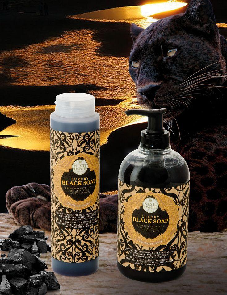 NEW! NESTI DANTE LUXURY BLACK LIQUID SOAP&SHOWER GEL! #nestidante #нестіданте #нестиданте #мило #мыло