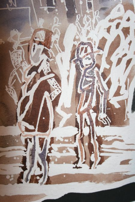 illustrating YOUTH - by J.M Coetzee, more on http://maiastefanaoprea.wordpress.com