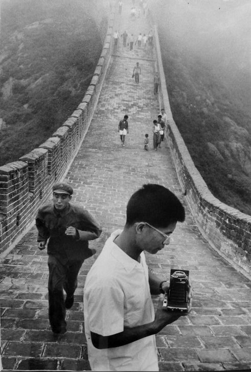 Marc Riboud On the Great Wall, China, 1971, 1971