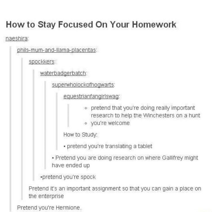 how to do a assignment