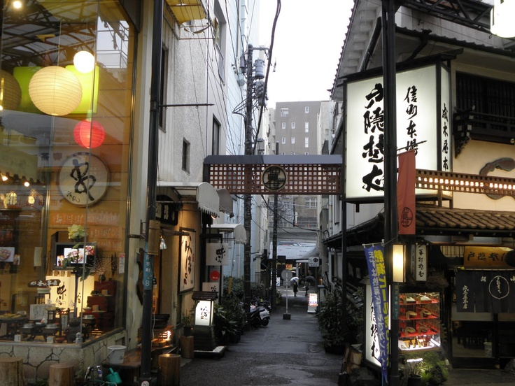 Atami, japan seaside town old and new