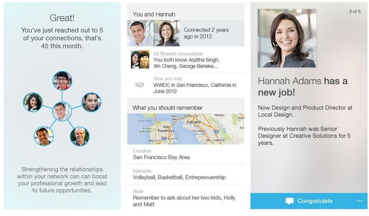 #LinkedIn's New App Predicts What You Need To Know Before A Meeting http://www.forbes.com/sites/parmyolson/2014/07/10/linkedin-connected-app-predictive/