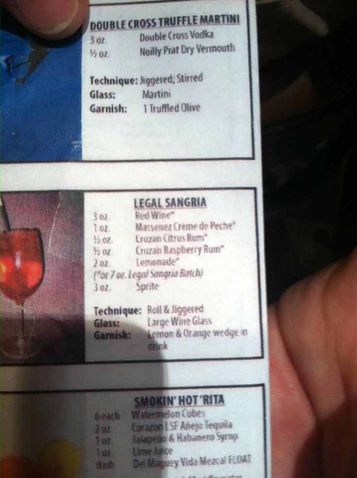 Legal Seafood Sangria recipe LEGIT