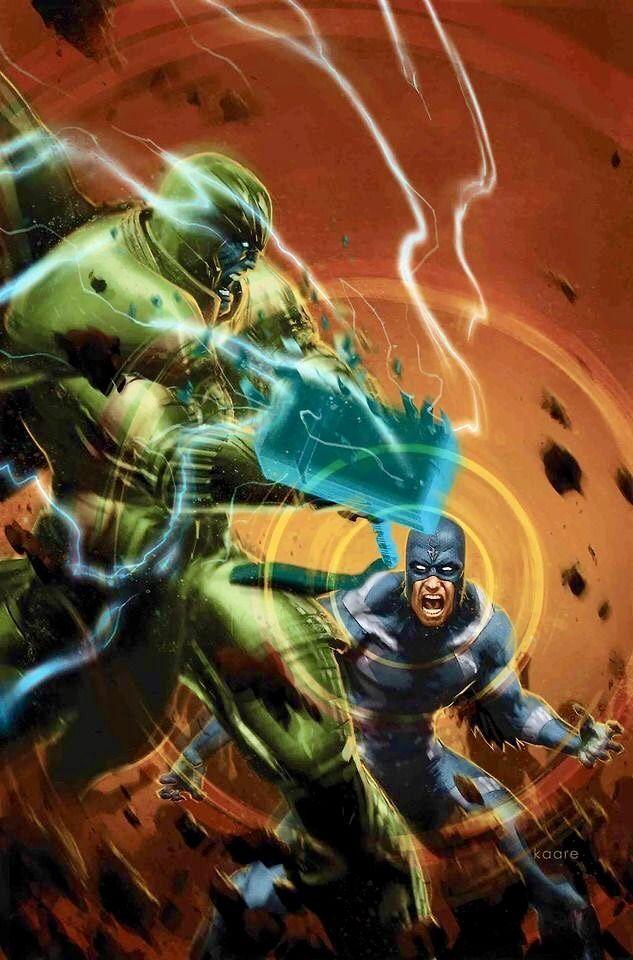 Thanos Vs Black Bolt Marvel Comics Art Marvel Marvel Comics