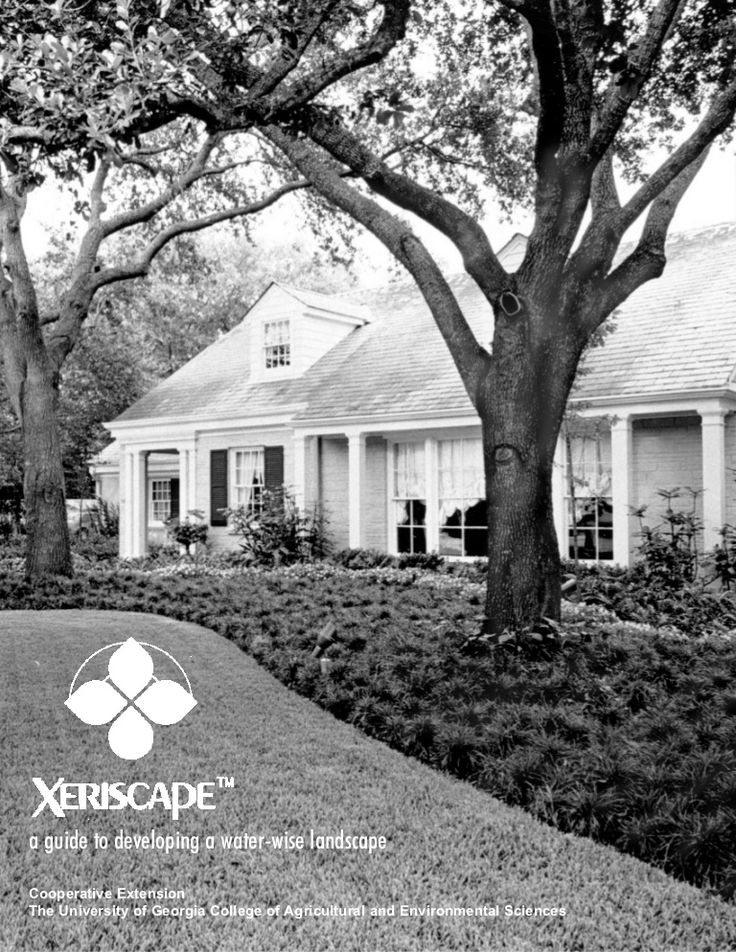 Xeriscape: a Guide to Developing a Water-Wise Landscape - University of Georgia by Eric851q via slideshare