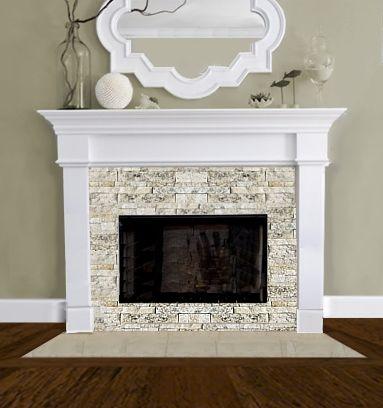 fireplace design for model