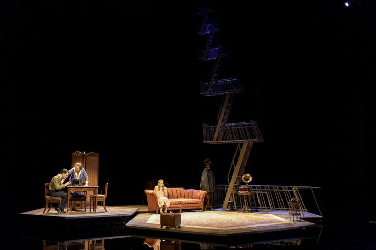 Obsessed with this set design for the Broadway revival of The Glass Menagerie by Bob Crowley
