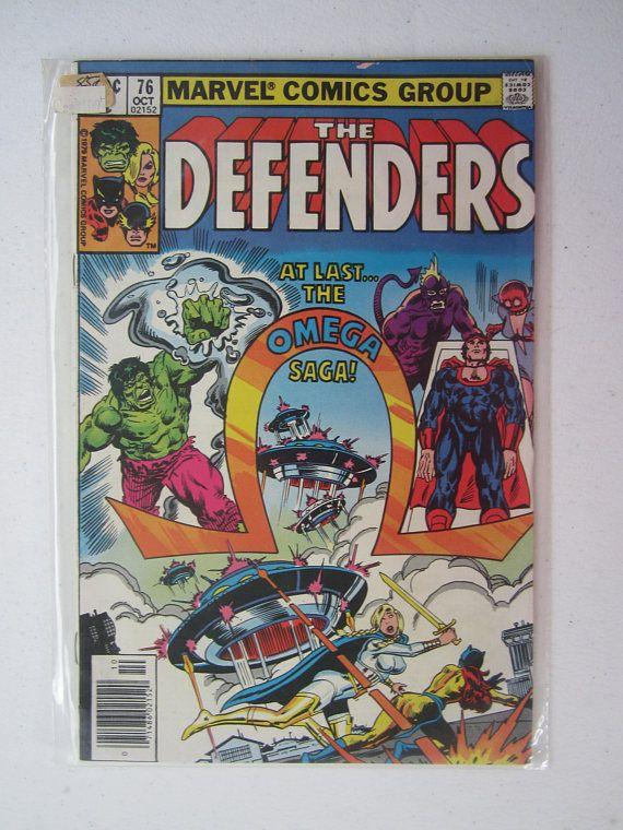 The Defenders 76 Marvel Comics 1979