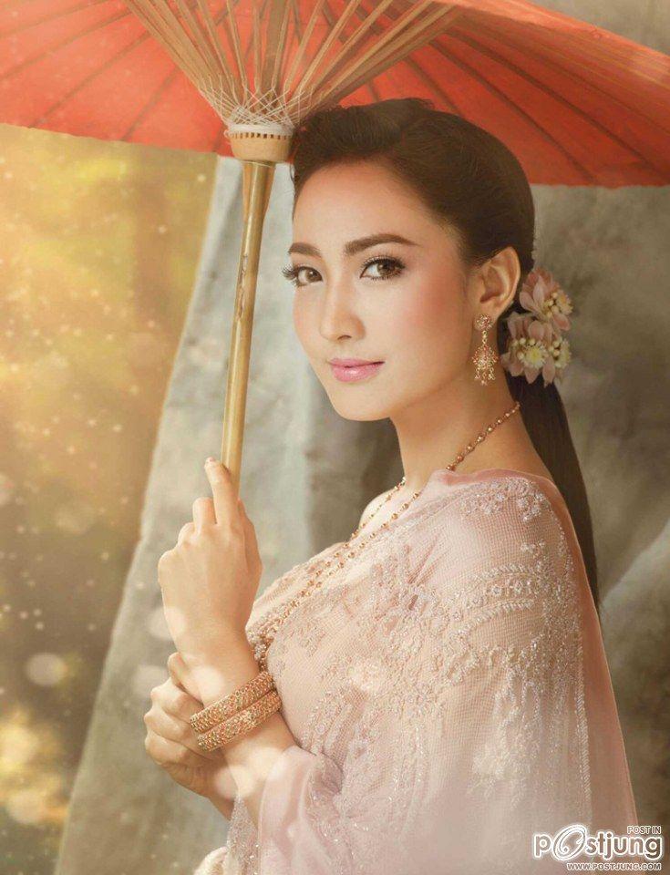 [Pics] แม่หญิงแต้ว ณฐพร ณ ปก We Magazine.•*´¨`*•.¸¸.•*´¨`*•โฉมใดเหล่า จะสวยเท่าโฉมนางใน...วรรณคดีไทย - Pantip