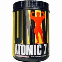 Моя любовь - Айхерб: Atomic 7 от Universal Nutrition с ароматом черной вишни. Universal Nutrition, Atomic 7, BCAA Performance Supplement, Black Cherry Bomb, 2.2 lb (1 kg)