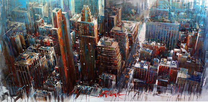 """NEX YORK"" Art Print by Van Tame on Artsider."